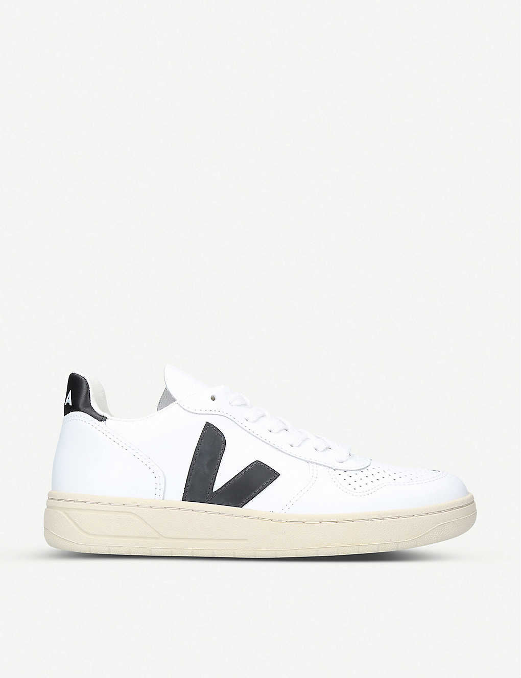 VEJA: V10 leather trainers