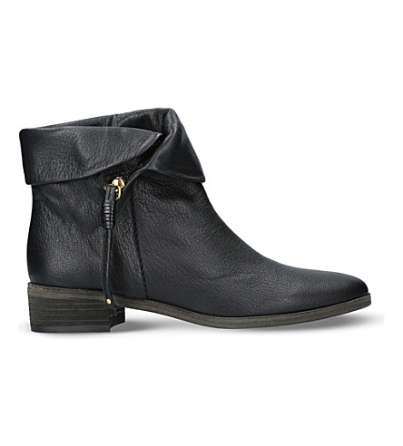 6bdfeb66cc0 See by Chloé Leather RoundToe Ankle Boots Buy For Sale rFw73 ...