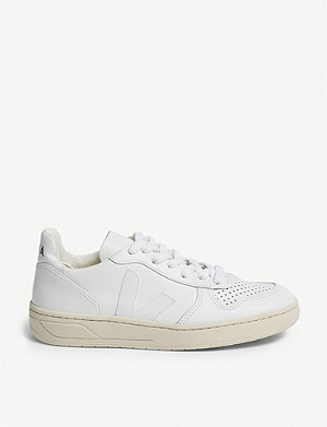 VEJA V-10 leather trainers