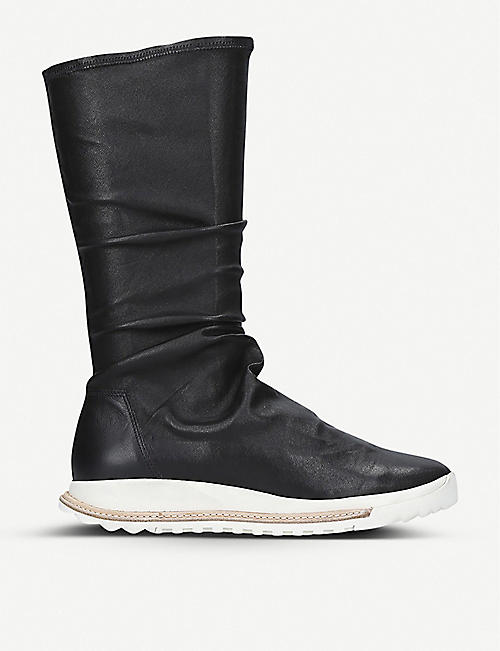 RICK OWENS Grafton high-top leather trainers