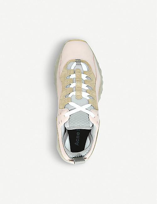 ACNE STUDIOS Manhattan nappa leather trainers