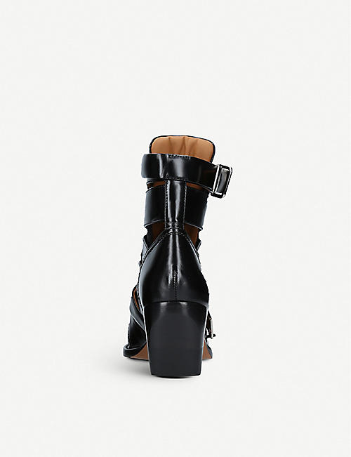 CHLOE Rylee 60 cut-out leather boots
