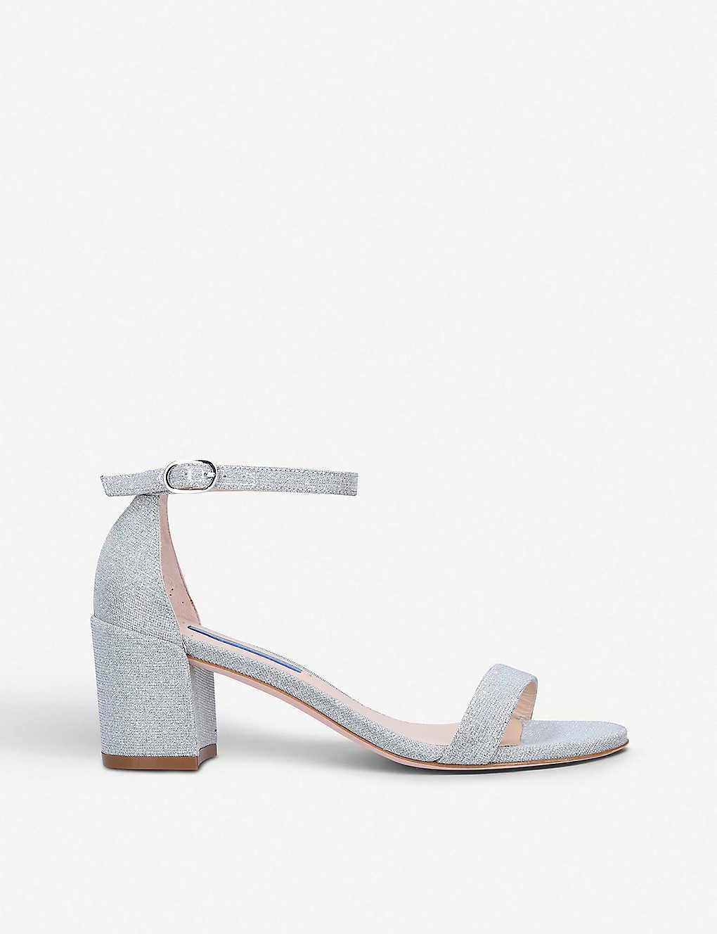 e33118986e6e STUART WEITZMAN - Simple glitter heeled sandals