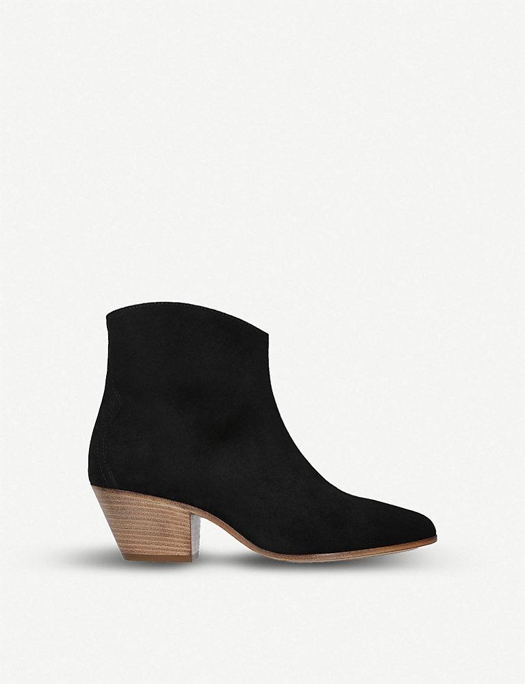 enjoy discount price enjoy big discount 2019 best sell Dacken cuban-heel suede ankle boots