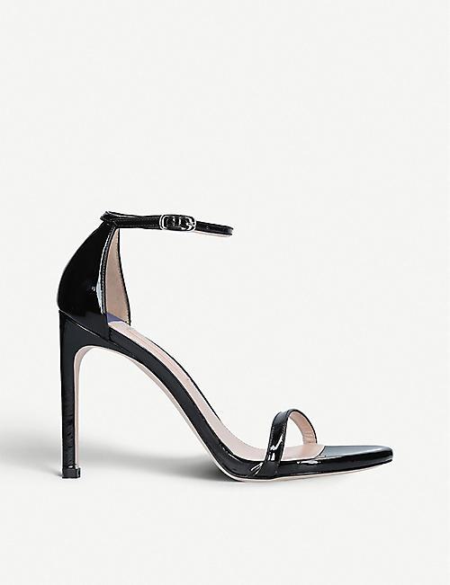 e3189b417844 STUART WEITZMAN Nudistsong 100 patent leather sandals