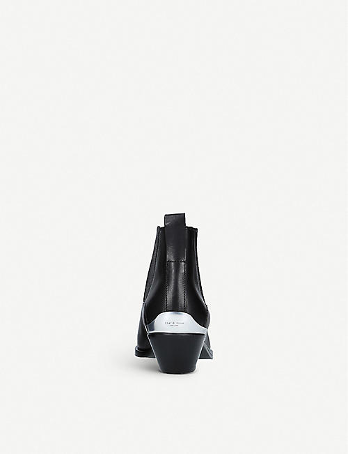 RAG AND BONE Westin leather chelsea boots