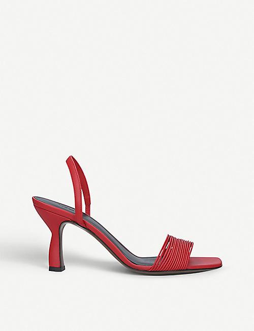 bfa20c5ee0d NEOUS Dilemma leather slingback sandals