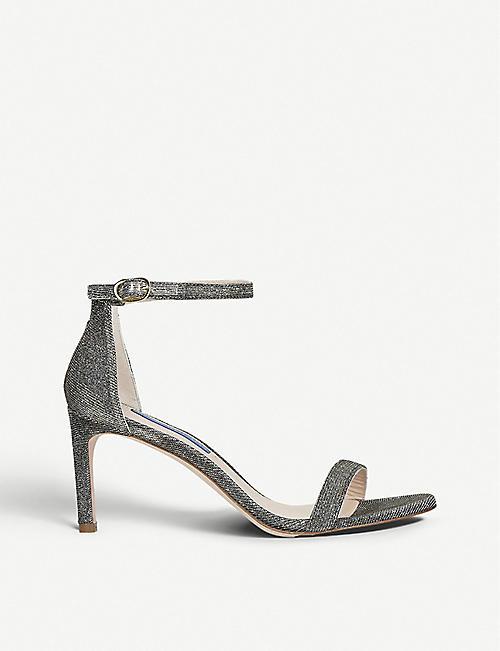 3528f6fb7c8 STUART WEITZMAN Nunakedstraight glitter sandals