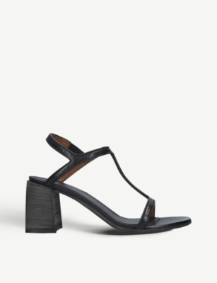 MARSELL T-bar strap leather block-heel sandals