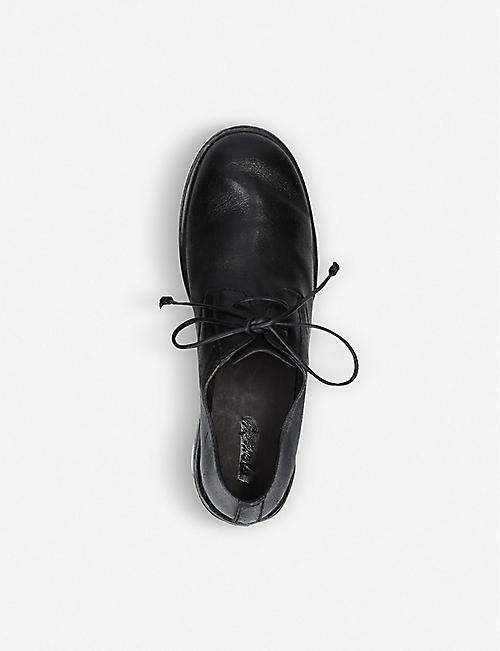 MARSELL Chunky-heel leather derby shoes