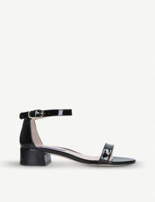 STUART WEITZMAN Nudistjune leather midi sandals