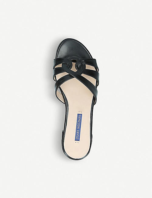 STUART WEITZMAN Cami leather sandals