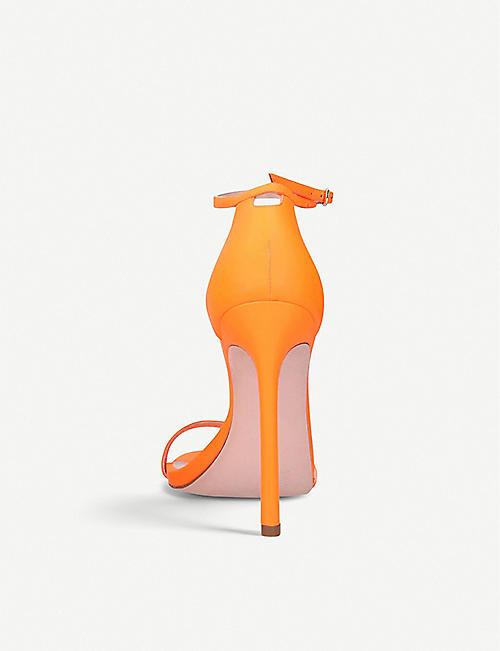 finest selection 4915e c4ff3 STUART WEITZMAN Nudist leather stiletto sandals