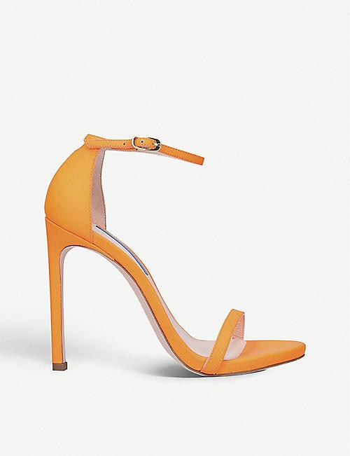 cec7848df072 STUART WEITZMAN Nudist leather stiletto sandals