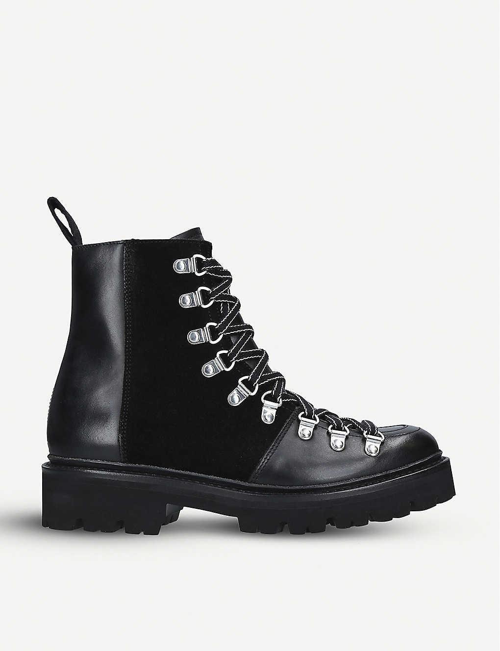 93c7f470470 GRENSON - Nanette leather hiking boots | Selfridges.com