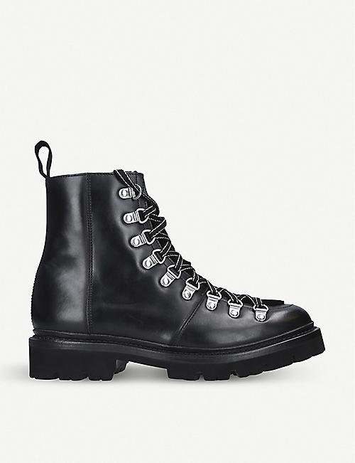 e5c846db4 GRENSON Nanette leather hiking boots