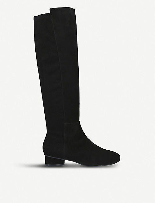 7ae88794774 STUART WEITZMAN Eloise 30 suede knee-high boots