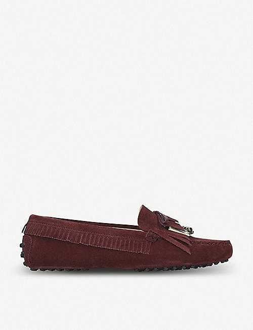 2a087d30ffc TODS Gommini Gioiello suede shoes