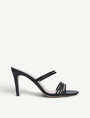 KALDA Simone 85 strappy leather mules
