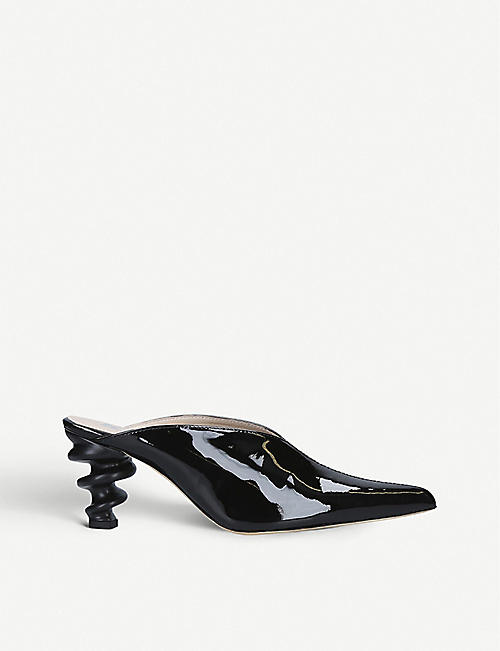 KALDA Cyland patent leather mules