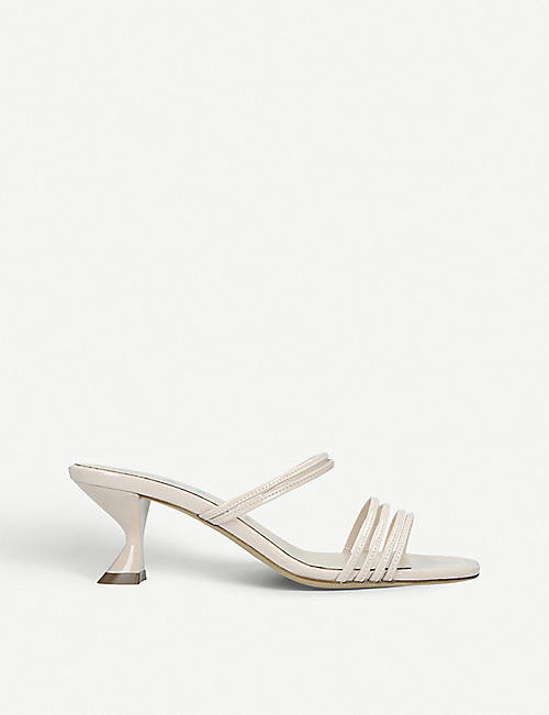 KALDA Simon leather heeled mules