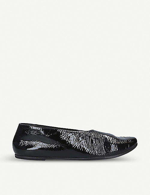 MARSELL Patent leather flats