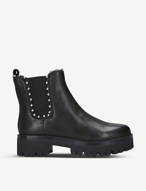 STEVE MADDEN Aiken studded leather Chelsea boots