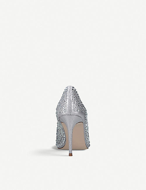 STEVE MADDEN Lilett embellished court shoes