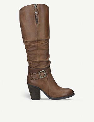 STEVE MADDEN Olivia leather boots