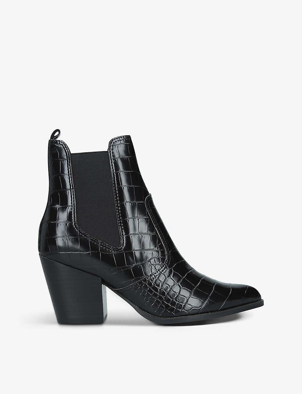 STEVE MADDEN: Patricia faux-leather ankle boots