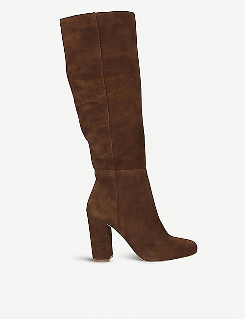 STEVE MADDEN Persist suede knee-high boots