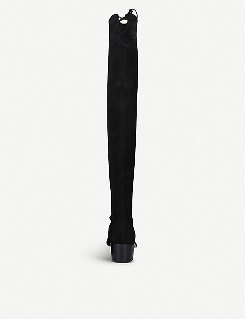 STUART WEITZMAN Midland over-the-knee suede boots