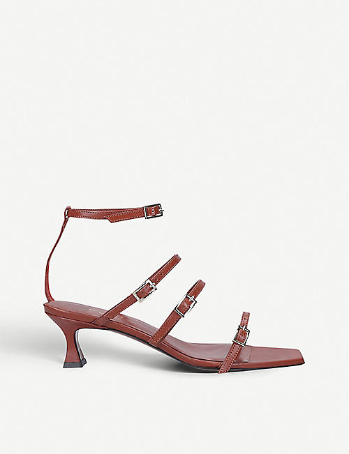 MANU ATELIER Naomi leather heeled sandals