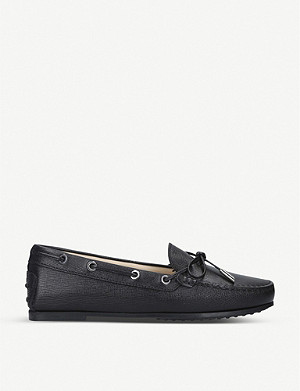 TODS City Gommino leather loafers