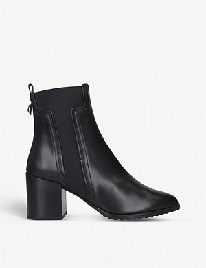 TODS T-gusset leather Chelsea boots