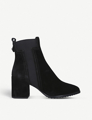 TODS T-gusset suede Chelsea boots