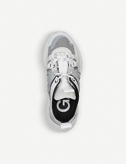 GANNI Tech leather trainers