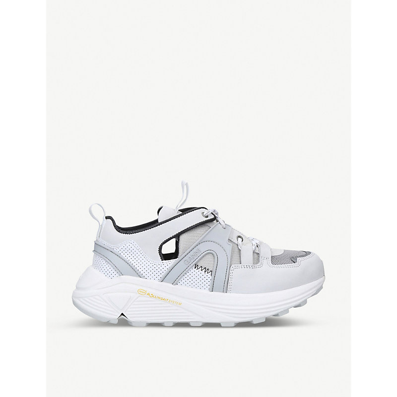 Ganni Shoes TECH LEATHER TRAINERS