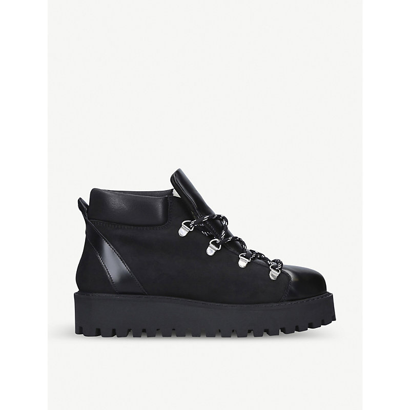 Ganni Boots WINTER CITY SUEDE BOOTS