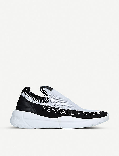 KENDALL & KYLIE Nella mesh trainers