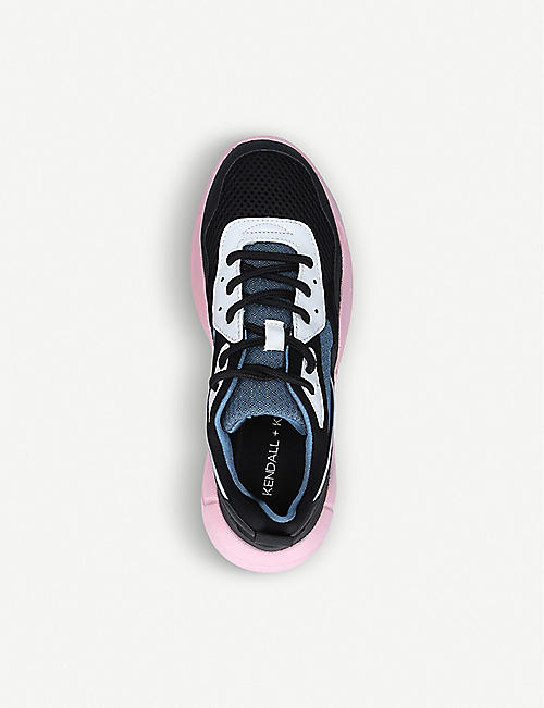 KENDALL & KYLIE Nikki mesh trainers