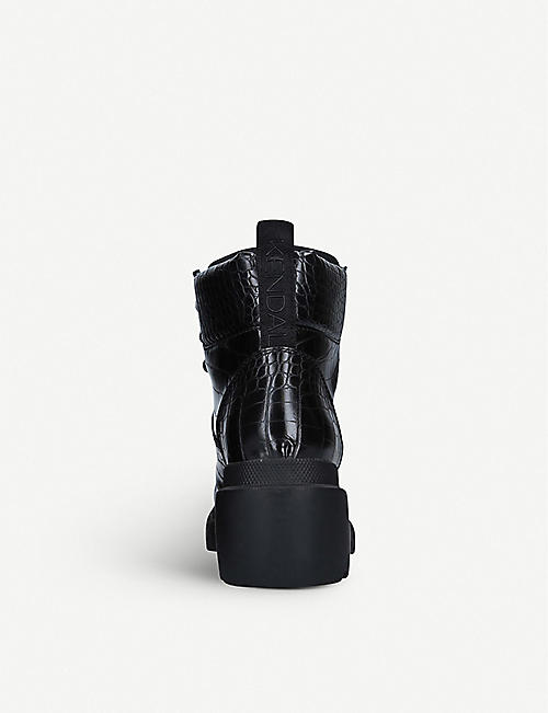 KENDALL & KYLIE Rory faux-leather boots
