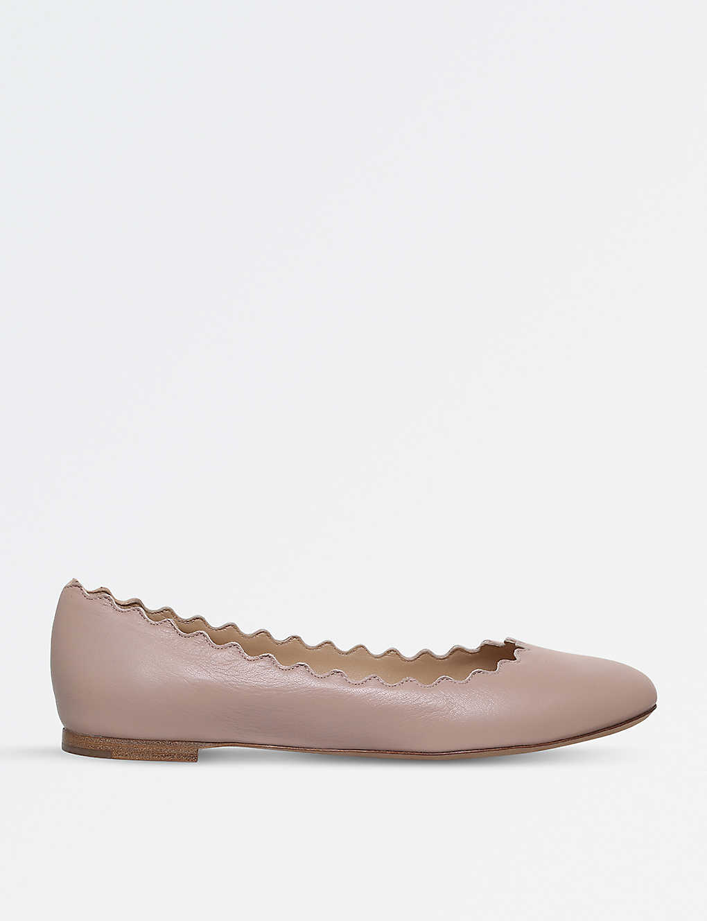 78ad4879f CHLOE - Lauren leather ballet flats | Selfridges.com