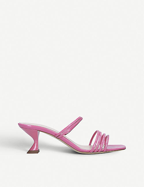 KALDA Simon Mini patent-leather sandals