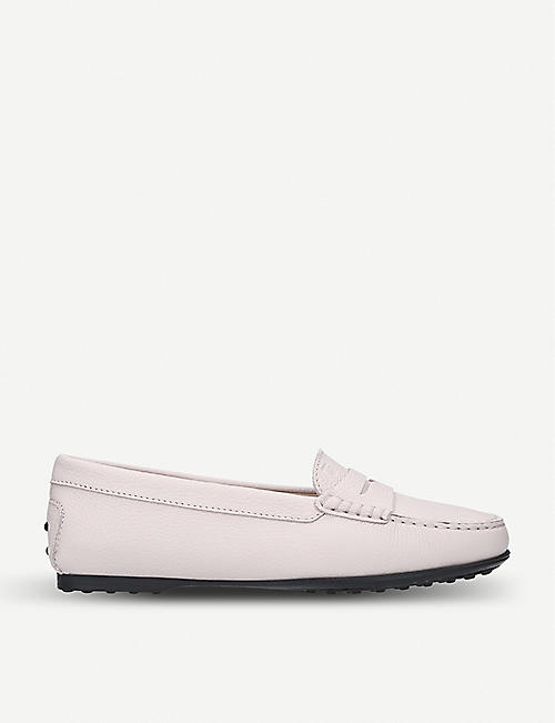 f01bc83e297 TODS City Gommino leather penny loafers. TODS City Gommino leather penny  loafers. Quick Shop