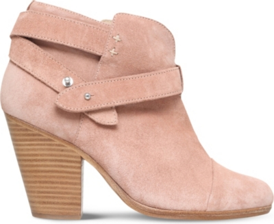 RAG AND BONE Harrow suede heeled ankle boots