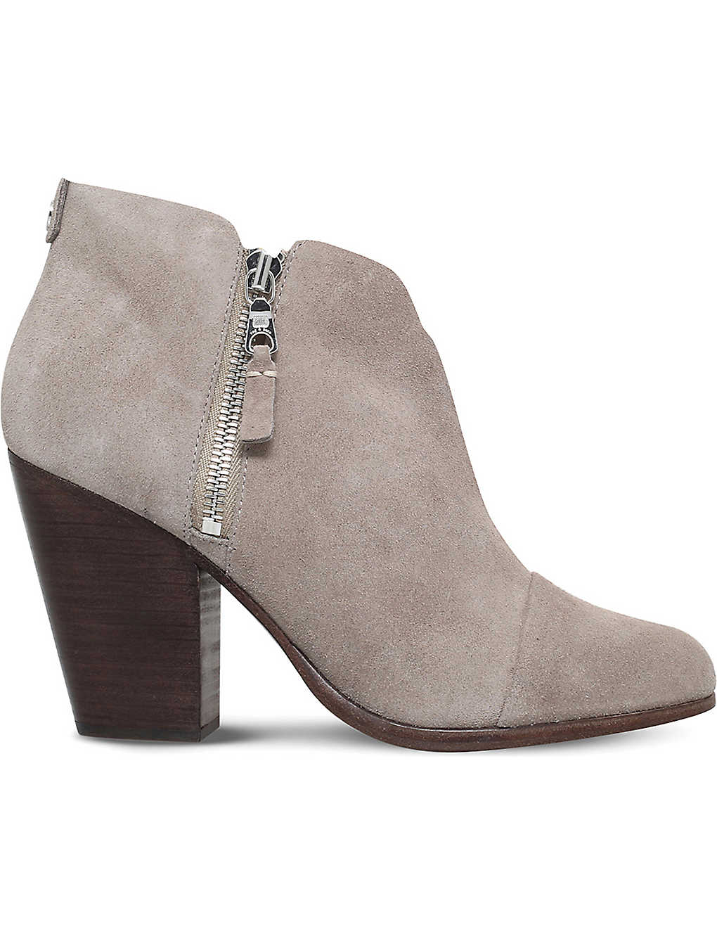 34baf12767 RAG AND BONE - Margot suede heeled ankle boots | Selfridges.com