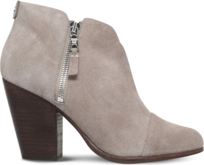 RAG AND BONE Margot suede heeled ankle boots