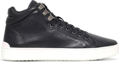 RAG AND BONE Kent leather high-top trainers