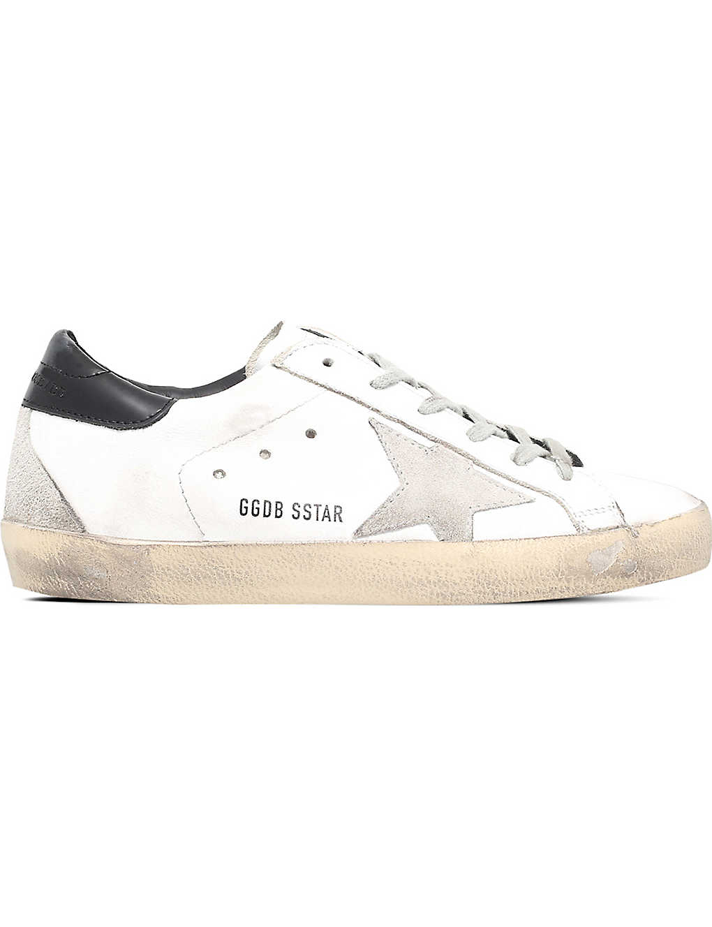 9e1a1c98fa5 GOLDEN GOOSE - Super star suede and leather trainers | Selfridges.com